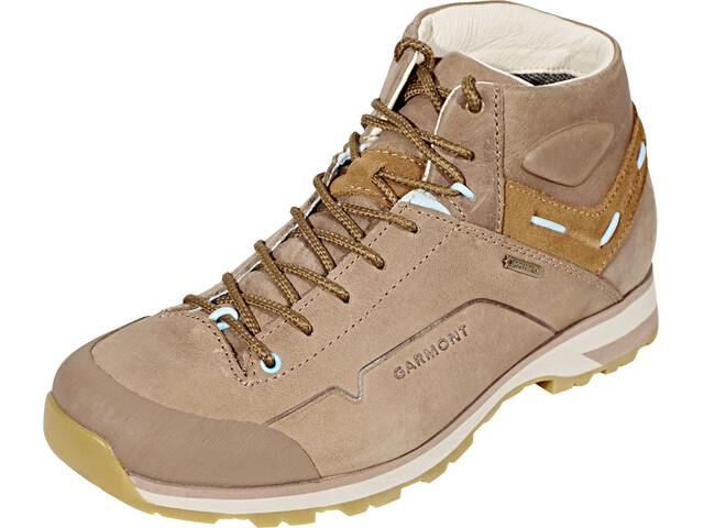 Garmont Miguasha Nubuk GTX Mountaineer Shoes Women Beige/Light Blue